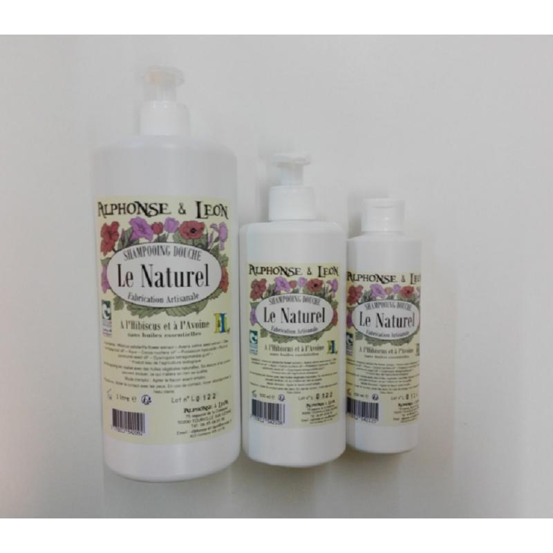 Le naturel shampooing douche